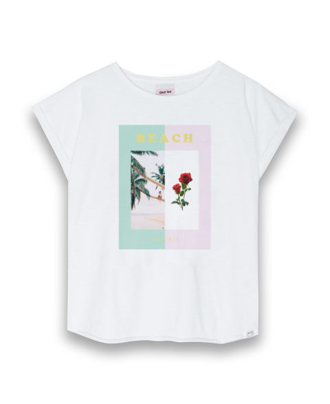 Camiseta mujer Beach Hawaii
