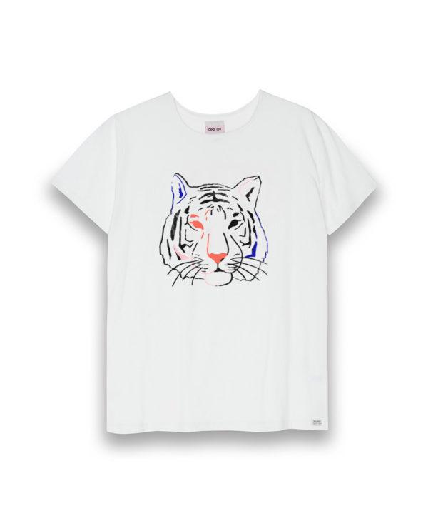 Camiseta mujer Tigre Acuarela