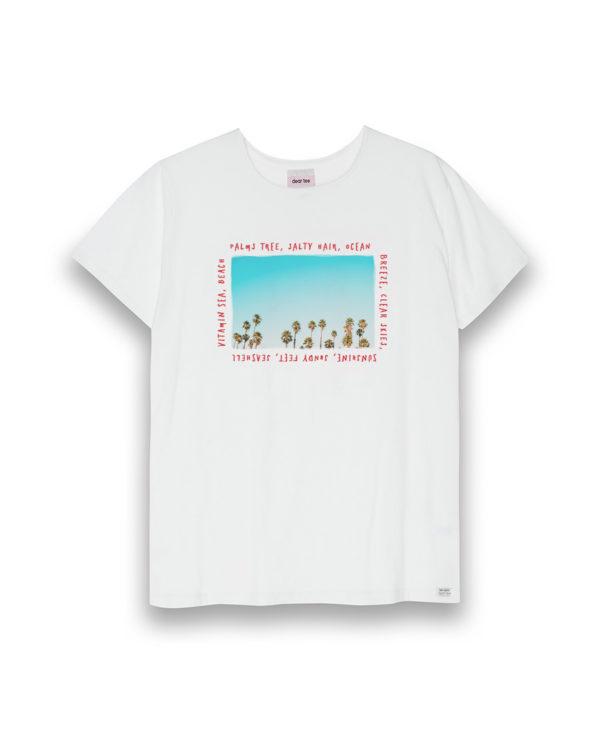 Camiseta mujer Palms Tree