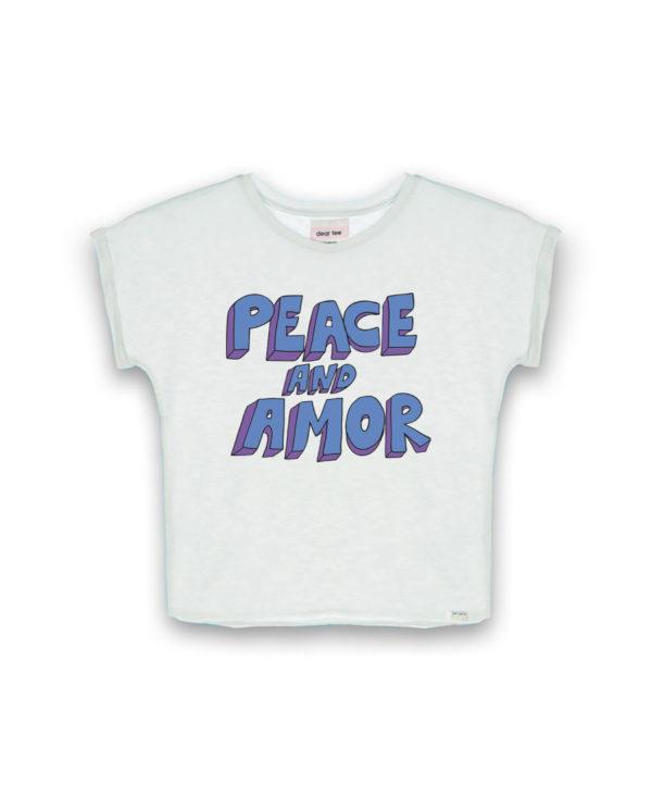 Camiseta mujer Peace & amor