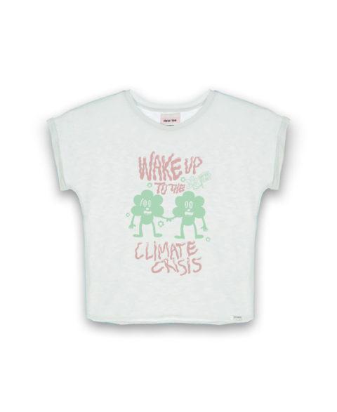 Camiseta mujer Wake up