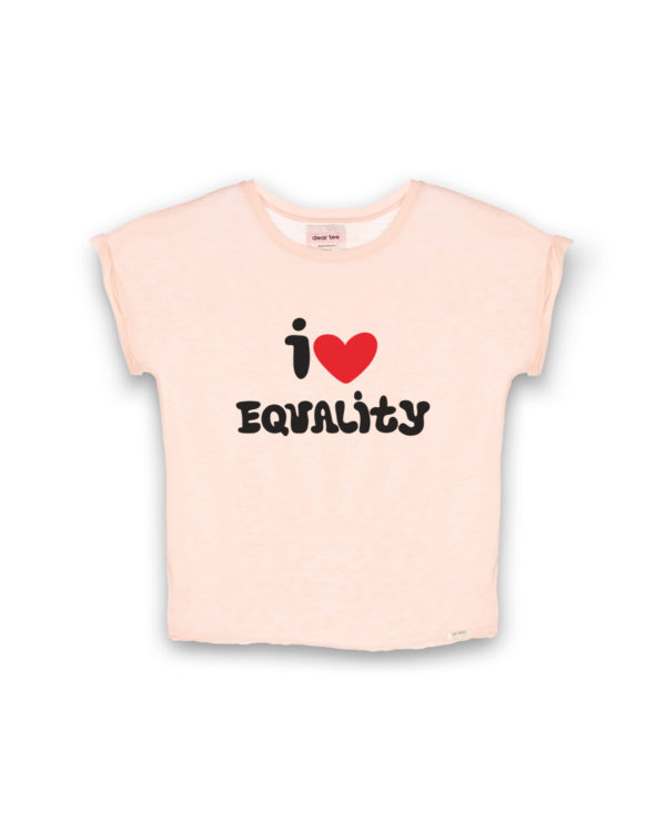 Camiseta mujer Equality