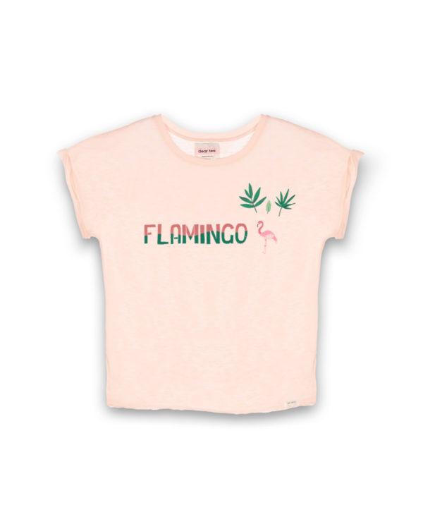 Camiseta mujer Flamingo