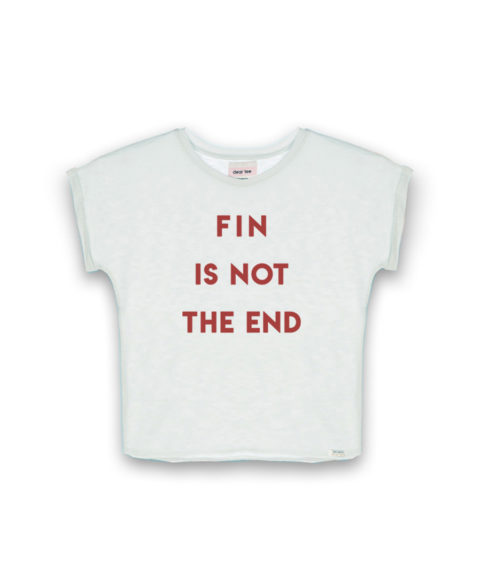 Camiseta mujer The End