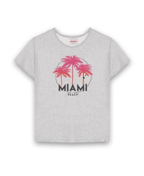 Camiseta mujer Miami Palms
