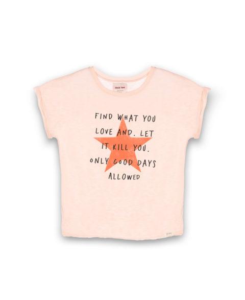 Camiseta mujer Star Letter