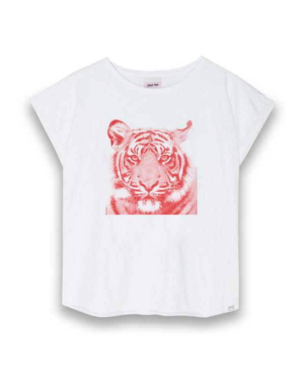 Camiseta mujer Tiger pink