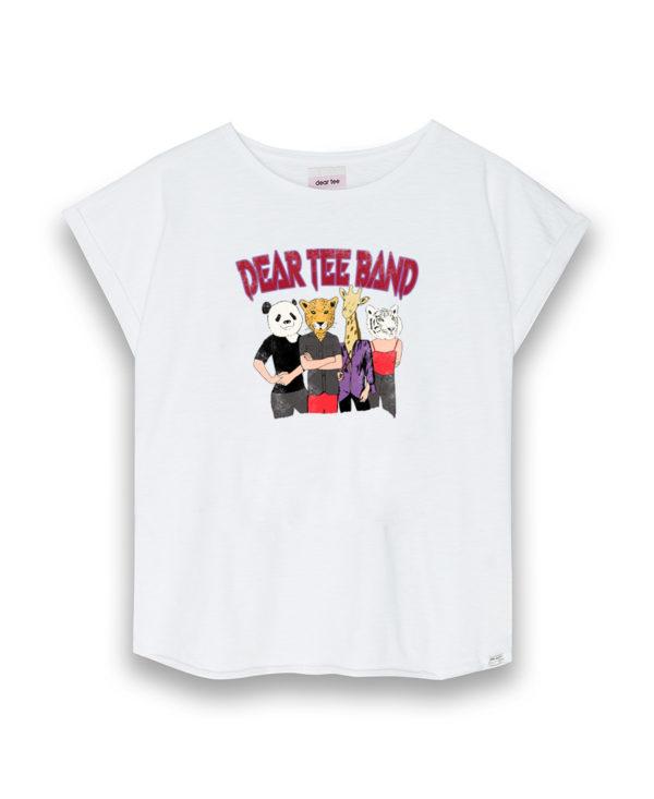 Camiseta mujer Dear Tee Band