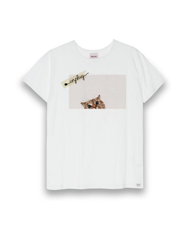 Camiseta mujer Unplug