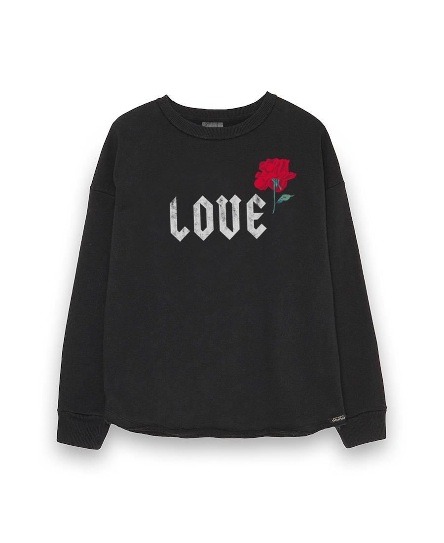 Sudadera mujer Love Rose