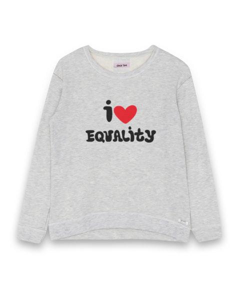 Sudadera mujer Equality