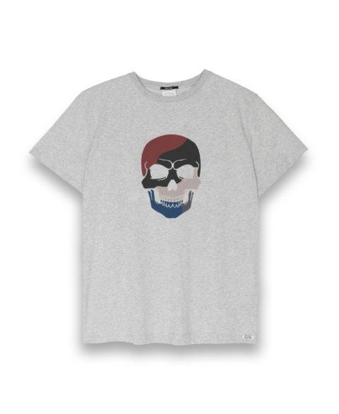 Camiseta hombre Skull Colors
