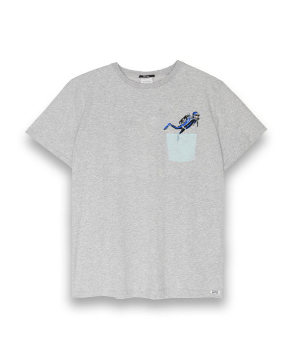 Camiseta hombre Pocket Submarine
