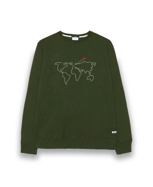 Sudadera hombre World Map